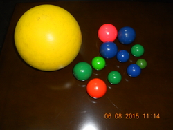 POLYURETHANE BALLS from ISMAT RUBBER PRODUCTS IND