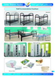 FURNITURE FOR LABOUR CAMPS SUPPLIER IN UAE from GOLDEN DOLPHINS SUPPLIES