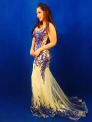PARTY EVENING GOWN from SHAILY'S FASHION ART