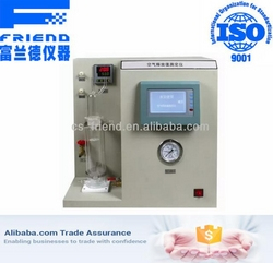 FDT-1231 Air release value analyzer from FRIEND EXPERIMENTAL ANALYSIS INSTRUMENT CO., LTD