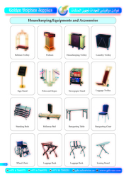 HOUSEKEEPING EQUIPMENTS AND ACCESSORIES IN DUBAI  from GOLDEN DOLPHINS SUPPLIES