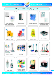 HYGIENE AND CLEANING EQUIPMENT SUPPLIER IN DUBAI  from GOLDEN DOLPHINS SUPPLIES
