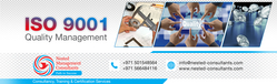 ISO Certification from NESTED MANAGEMENT CONSULTANTS