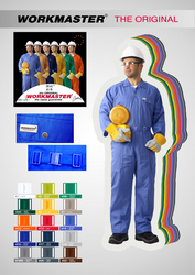 Workmaster 65%polyester 35%Cotton Coverall from DUCON BUILDING MATERIALS LLC