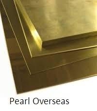 Brass Sheet from PEARL OVERSEAS