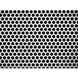Stainless Steel Perforated Sheet from GANPAT METAL INDUSTRIES
