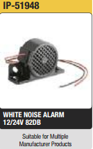 WHITE NOISE ALARM Supplier in UAE from IPS MIDDLE EAST MACHINERY AND EQUIPMENT LLC