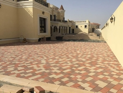 Tegula Interlock in UAE(Supply & Fixing) from DUCON BUILDING MATERIALS LLC