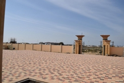 Tegula Pavers(24/16/12-16x8cm)Shot Blast(F)in UAE from DUCON BUILDING MATERIALS LLC