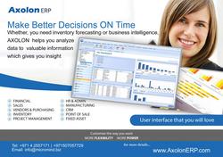 ERP Solution Provider Dubai 97142557171 from AXOLONERP