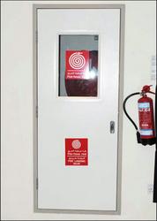 FIRE RATED STEEL DOORS IN UAE from GREEN HOLLOW METAL DOORS LLC