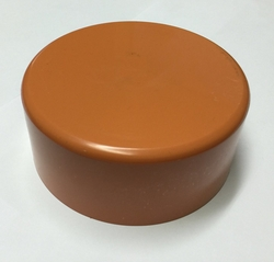 110 MM PVC OUTER END CAPS FOR PVC AND HDPE PIPES from AL BARSHAA PLASTIC PRODUCT COMPANY LLC