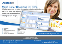 ERP UAE from AXOLONERP