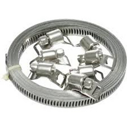 GI & SS Hose Clamp Roll & Clip from CLEAR WAY BUILDING MATERIALS TRADING
