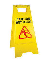 Caution Wet Floor from CLEAR WAY BUILDING MATERIALS TRADING
