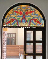 stained glass  from AL YASMEEN GLASS & DECOR