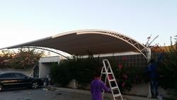 car park shades suppliers in dubai +971553866226 from BAIT AL MALAKI TENTS AND SHADES +971522124675