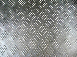 Aluminium Chquered Sheets - 5 Bar Pattren from ANGELS ALUMINIUM CORPORATION