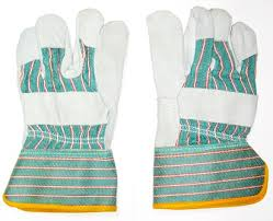 Green Leather Gloves In abudhabi from CLEAR WAY BUILDING MATERIALS TRADING
