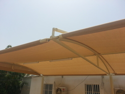 Car Park Shades / Car Park Shade Sturctures in UAE from BAIT AL MALAKI TENTS AND SHADES +971522124675