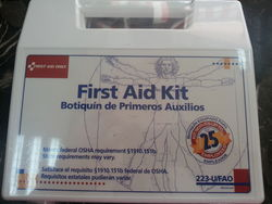 FIRST AID KIT , U.S.A. from AIDAN INDUSTRIAL TRADING