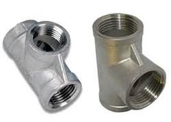 Nickel Alloy Forged Tee from SEAMAC PIPING SOLUTIONS INC.