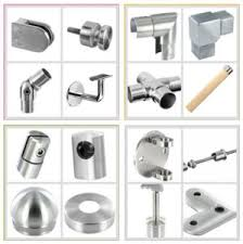 Stainless Steel Handrail Fitting Supplier in UAE from AL