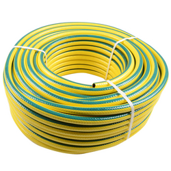 heavy duty hose pipe yellow with green line from ADEX INTL
