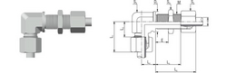 BULKHEAD ELBOW FITTINGS - WSV from M.P. JAIN TUBING SOLUTIONS LLP