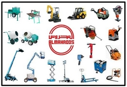 Construction Equipment & Machinery Suppliers  from AL MAHROOS TRADING EST