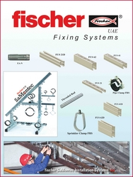 Installation Fastening Fixing Systems: Fischer from FAKHRI & BROTHERS AIR CONDITIONING TRADING LLC