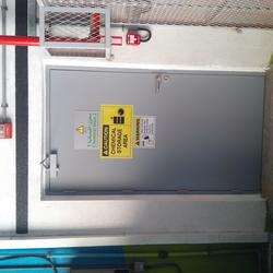 STEEL FIRE RATED DOORS & FRAMES from GREEN HOLLOW METAL DOORS LLC
