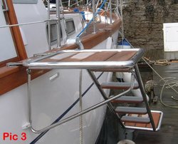 MARINE-SS LADDER from EURO STEEL AND ALUMINIUM LLC
