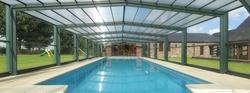 Swimming Pool Shades in ajman from SAHARA DOORS & METALS LLC