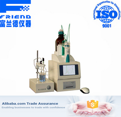 Automatic titrator oil mercaptan sulfur analyzer from FRIEND EXPERIMENTAL ANALYSIS INSTRUMENT CO., LTD