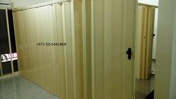 pvc folding doors/pvc sliding doors/accordion door from