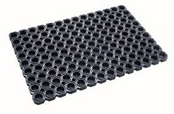 Rubber ring mat from EURO STEEL AND ALUMINIUM LLC