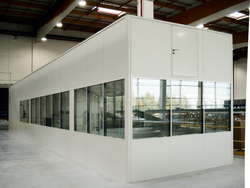 ALUMINIUM PARTITION DUBAI from WHITE METAL CONTRACTING LLC