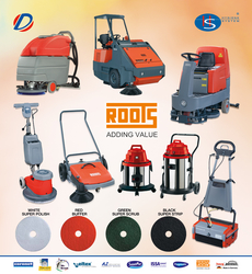 Roots Wizzard Mini Scrubber Machine in Ajman