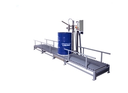Drum Filling Machine supplier in UAE from TOTAL PACKAGING SOLUTIONS FZC /WWW.TOTALPACKGULF.COM