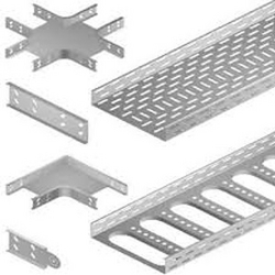 All Types of Cable Tray GI & PVC from CLEAR WAY BUILDING MATERIALS TRADING