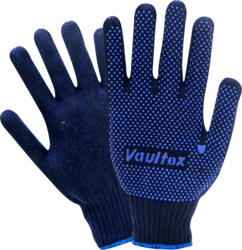 VAULTEX SINGLE SIDE DOTTED GLOVES IN QATAR from SOUVENIR BUILDING MATERIALS LLC