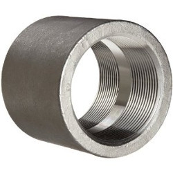 Half Coupling, SW, NPT from CHOUDHARY PIPE FITTING CO,