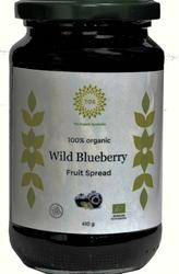 Organic wild blueberry fruit spread