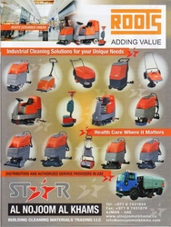 Cleaning Equipment Suppliers in UAE from  AL NOJOOM CLEANING EQUIPMENT LLC