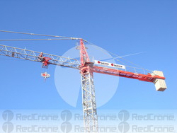 SPANISH MANUFACTURER TOWER CRANE SAEZ S52 REFURBIS from REDCRANE LOADING LIFTING RENTAL EQUIPMENT LLC
