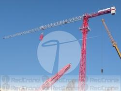 SPANISH BRAND TOWER CRANE REDCRANE@ SAEZ TL50 2013