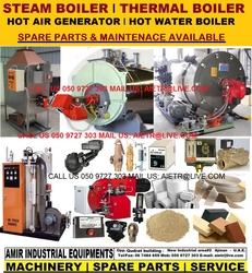 Hot water boiler Steam boiler Maintenance in Abu Dhabi Dubai Sharjah Ajman Ras al Khaimah UAQ from AMIR INDUSTRIAL EQUIPMENT'S