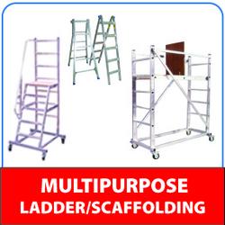 Multi Purpose Ladder supplier in Dubai from MASONLITE SIGN SUPPLIES & EQUIPMENT