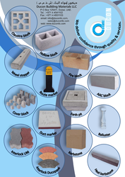 Wheel Stopper supplier in UAE from DUCON BUILDING MATERIALS LLC